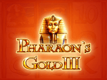 Бонусы Вулкан, аппараты Pharaohs Gold III
