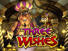 Слот Three Wishes на официальном зеркале сайта